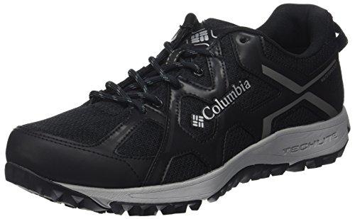 Columbia Conspiracy Switchback III Omni-Tech, Chaussures de Randonnée Basses Homme Noir (Black, Lux)