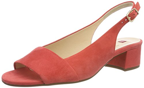 Högl Damen 5-10 2102 8900 Slingback Pumps, Orange (Koralle), 42 EU
