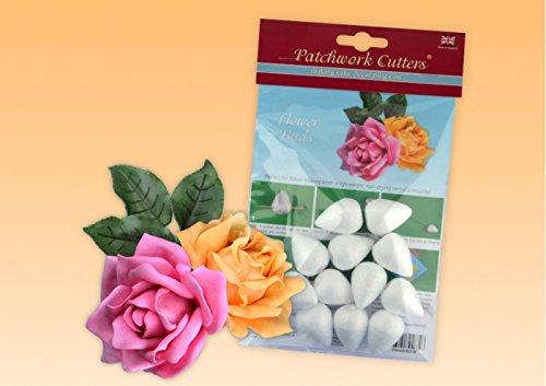 Patchwork Cutters Blütenknospen Leichte Styro Blütenknospen Einfach zu bedienen (Cutter Leichter)