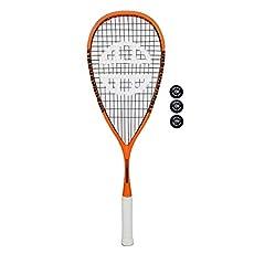 Wilson Pro raqueta de squash (Azul/blanco) - Cuerda Estampado: 14 x 19 - tamaño de cabeza: 496 Cuadrado cm - SALDO : 30.9cm