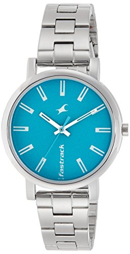 Fastrack Fundamentals Analog Blue Dial Women's Watch - 68010SM02