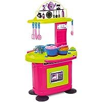 Kinderküche Spielküche Kinderspielküche Spielzeugküche Küche inkl. 22 tlg. Zubehör preisvergleich bei kinderzimmerdekopreise.eu