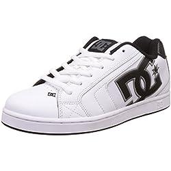 Pisahuevos DC Net Fashion - Zapatillas de skate para hombres, Blanco (White/battleship/white), 42