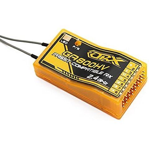 OrangeRx GA800HV Futaba FASST Compatible 8ch 2.4Ghz Receiver by HobbyKing