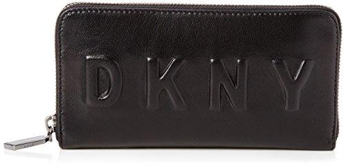 dkny-large-zip-around-pochette-femme-noir-noir-black-254x10x19-cm-w-x-h-x-l-eu