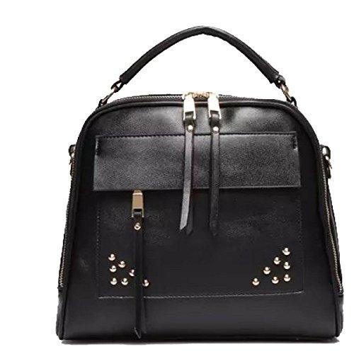 Sacchetto Di Spalla Della Retro Borsa Ms. Messenger Bag Black