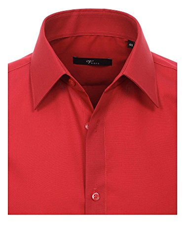 Venti Herren Slim Fit Business Hemd 001480 Rot