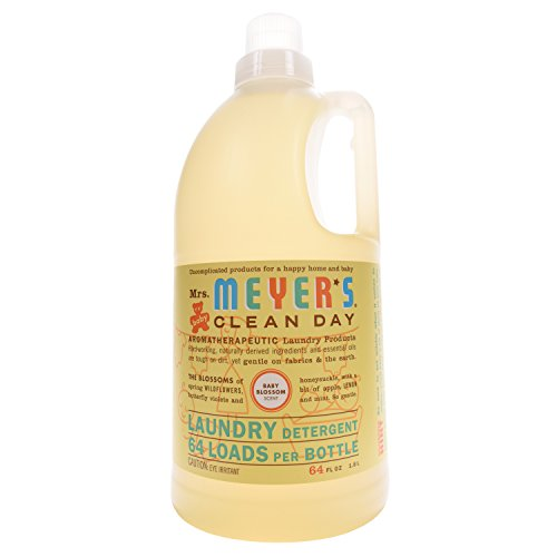 Mrs. Meyer's Clean Day Laundry Detergent - Baby Blossom - 64 oz by Mrs. Meyer's Clean Day