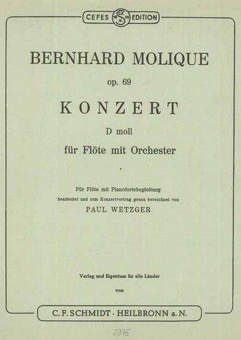 Konzert für Flöte op.69 für Flöte und Orchester :