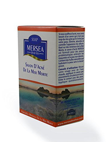 MERSEA Totes Meer Spezial Seife - bei bei Akne, Pickel, Hautunreinheiten und - Meer Salz, Akne