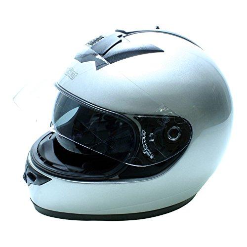 Roadstar Integral-Helm Phantom Evo, Silber, Größe 53/54 (Motorrad Evos Helm)