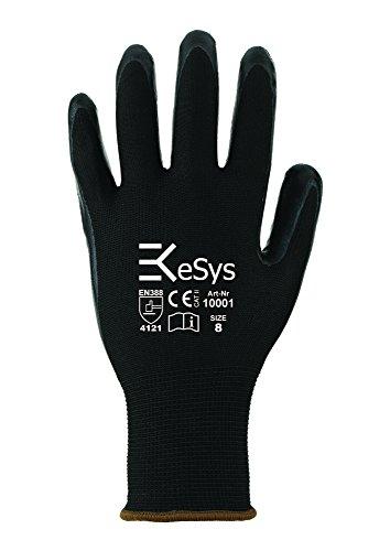 12 Paar EKeSyS Nitril Montage-Handschuhe 10001 Gr. 8