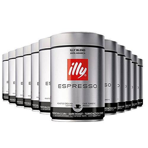 Illy Kaffee Röstung S 12 x 250g gemahlen