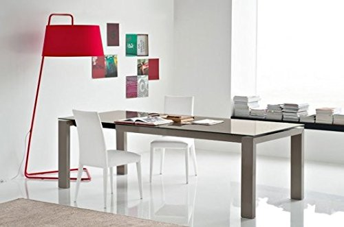 Calligaris connubia by Mesa Extensible Sigma Glass CS/4069-lv 160 ...