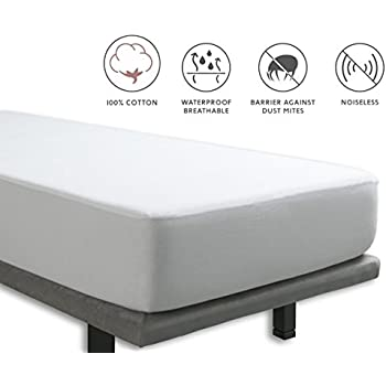 wasserdichter matratzenschoner pvc matratzenschutz bettlaken 90 100 x 200 cm k che. Black Bedroom Furniture Sets. Home Design Ideas