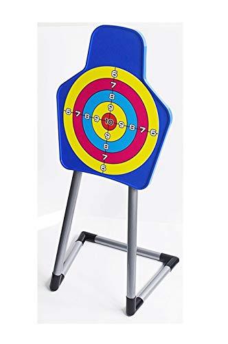 Izzy Zielscheibe mit Ständer für Kinderbogen, Pfeil und Bgen, Bogenschiessen Kinder