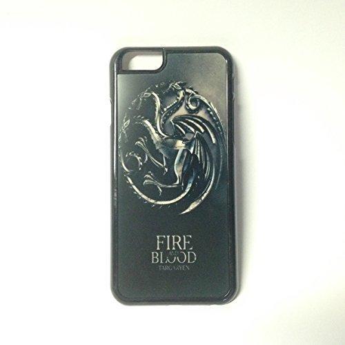 Kustomyze - Black Iphone 6 Case - Game of Thrones Fire and Blood House Targaryen