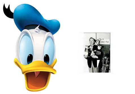 rtei Gesichtsmasken (Maske) - Enthält 6X4 (15X10Cm) starfoto (Disney) (Donald Duck Kostüm Kostüm)