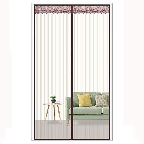 Magnet Fliegengitter Tür Insektenschutz, Moskito-Fenster-Schlafzimmer-Sommer-Ausgangsvorhang-Netz-Magnet Anti-Moskito-voller Rahmen-Dichtung