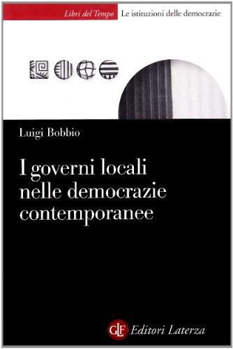 I governi locali nelle democrazie contemporanee