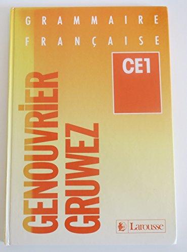 Grammaire française, CE1