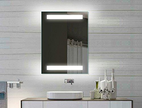 LED Badezimmerspiegel Badspiegel Wandspiegel Lichtspiegel 80x60 SPE8060H -
