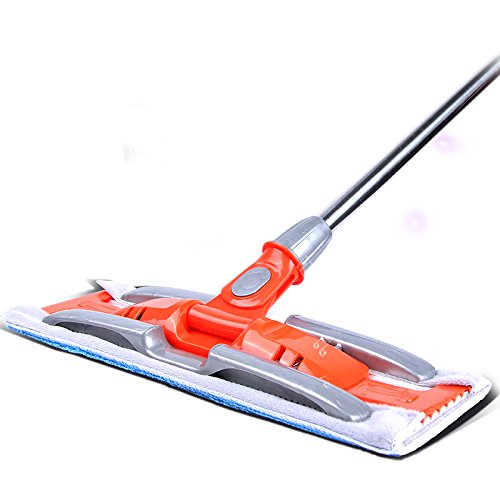 LIUXINDA-WJ 2018 Home LatestThe Orange Flat Mops Wooden Floor Dust and Clamp The Flat and Drag