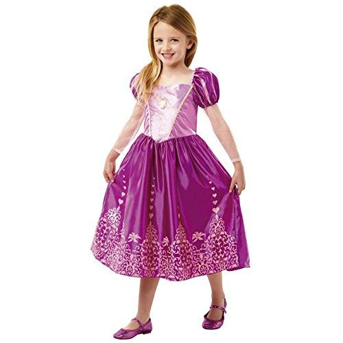 isney Princess Rapunzel Gem Kostüm, Mädchen, mittel (Halloween-kostüme Rapunzel)