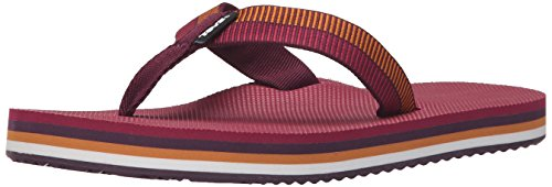Teva Deckers, Flip-Flop Donna, Grigio Viola (Ladder Grape Wine- LgpwLadder Grape Wine- Lgpw)