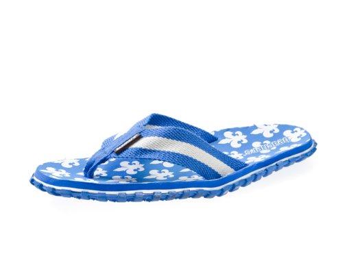 Beachers - Piscina Fleur De France Dedos Trenner / Sandália Azul Azul / Branco
