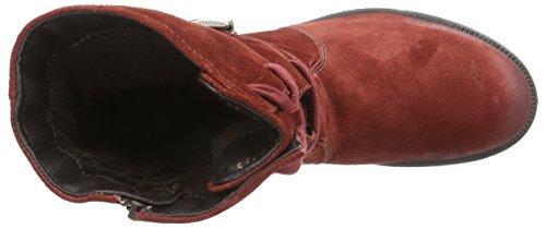 Josef Seibel Sandra 42 Damen Combat Boots Rot (388 carmin)