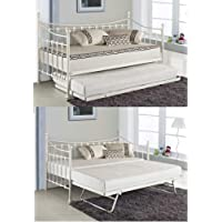 KOSY KOALA BLACK DAYBED 3FT SINGLE DAY BED WITH UNDER BED TRUNDLE FRAME BEDROOM FURNITURE