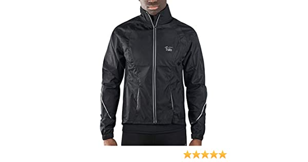 Black Traks Levisham Shell Mens Cycling Jacket