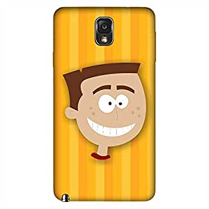 MOBO MONKEY Printed Hard Back Case Cover for Samsung Galaxy Note 3 - Premium Quality Ultra Slim & Tough Protective Mobile Phone Case & Cover