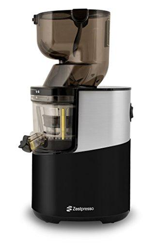 Zestpresso ZP-500 Whole Slow Juicer   Entsafter   Für Ganze Früchte   20 Jahre Garantie (Schwarz)