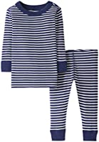 Moon and Back by Hanna Andersson 2 Piece Long Sleeve Pajama Set - Infant-and-Toddler-Pajama-Sets Unisex bebé