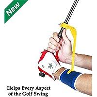 Swing Guide Trainer - Accessoire d'Aide à l'Entrainement et d'Echauffement - Outil de correction pour améliorer toutes les positions du Swing et ajuster les poignets de manière simple et efficace