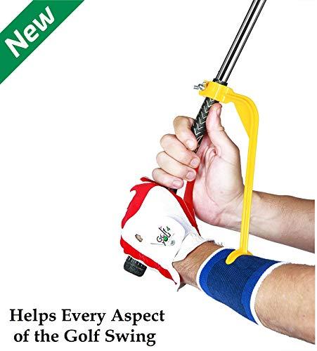 Swing Guide Trainer - Accessoire d'Aide à l'Entrainement et d'Echauffement - Outil de correction...