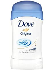 Dove Déodorant Femme Stick Anti Transpirant Original 40ml