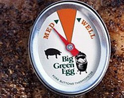 Big Green Egg Pork Button Thermometer by Big Green Egg