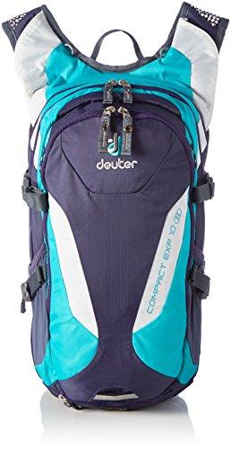 Deuter Compact Exp Slim Line Sac à dos vélo Femme, Blueberry/Mint, 10 + 2,5 L