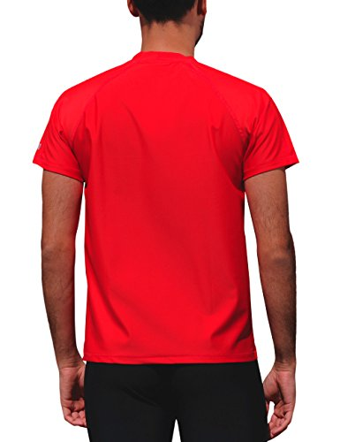 iQ-Company Herren T-Shirt UV-Schutz 300 Loose Fit Watersport 94 red