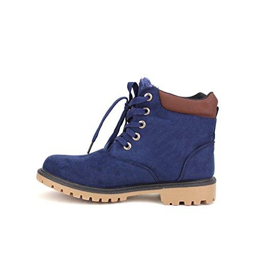 Cendriyon, Bottine Blue RANGES VERSO Chaussures Femme Bleu
