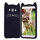 HopMore Compatible pour Coque Samsung Galaxy Grand Prime G530 Silicone Souple Chat...