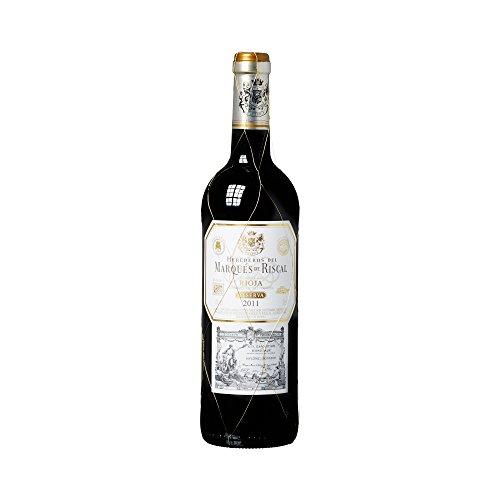 Marques De Riscal Reserva - Vino Tinto, Botella de 0.75 L, Reserva 2011-2013