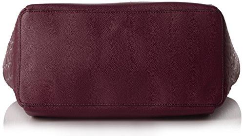 Calvin Klein Jeans Mish4 Large Tote, Sacs portés main Violet - Violett (BORDEAUX 500)