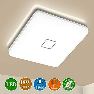 Plafoniera a LED 24W Airand Quadrato Plafoniera Bianco Freddo
