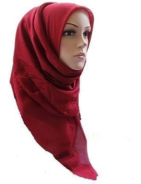 CK Collection - Kopftuch Hijab Maxi Schal GroßÜbergröße Einfarbig Viskose