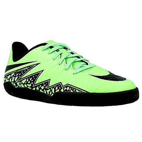 Nike Jr Hypervenom Phelon Ii Ic Sapatos Jovem De Futebol Verde-negra