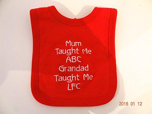 Personalisierte Baby Lätzchen–Liverpool–Fun Geschenk–Namen können–wunderschön bestickt und schnelle Versand (Boot Baby Bib)